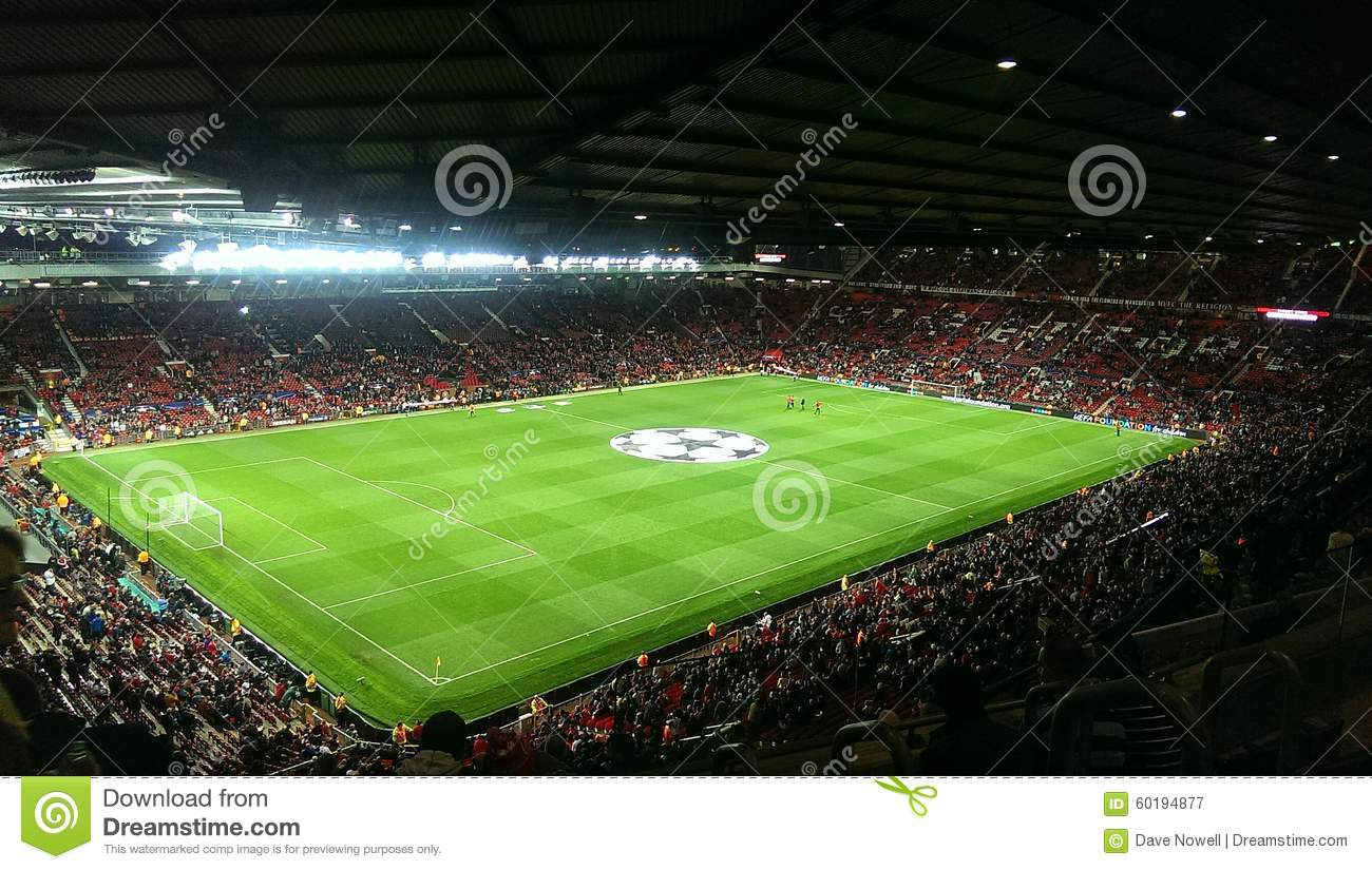 Old Trafford editorial photography. Image of picture - 60194877