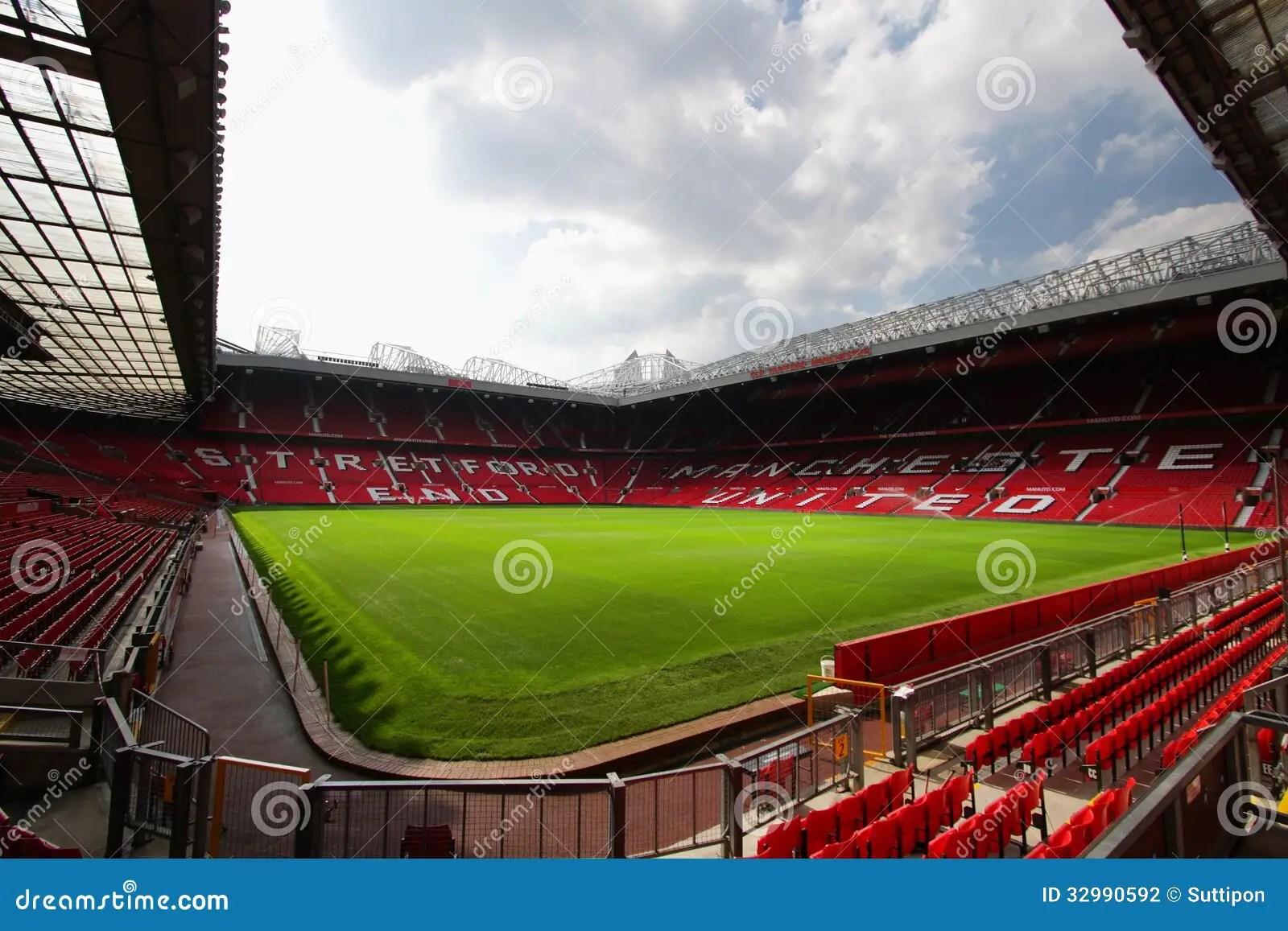 Old Trafford Stadium Editorial Photography - Image: 32990592