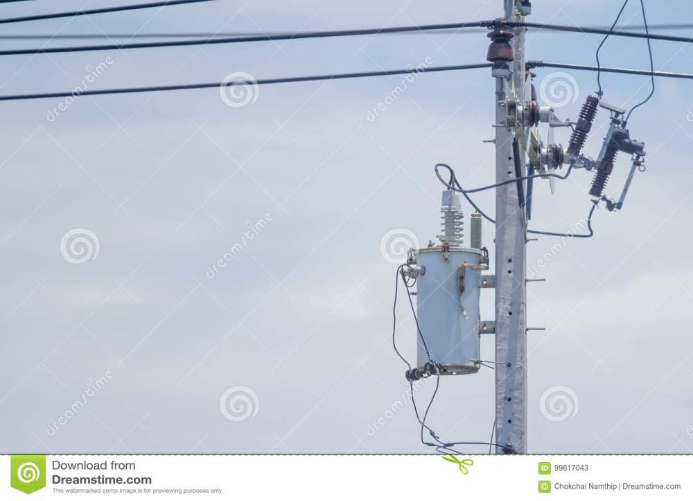 medium resolution of old transformer install at the power poles