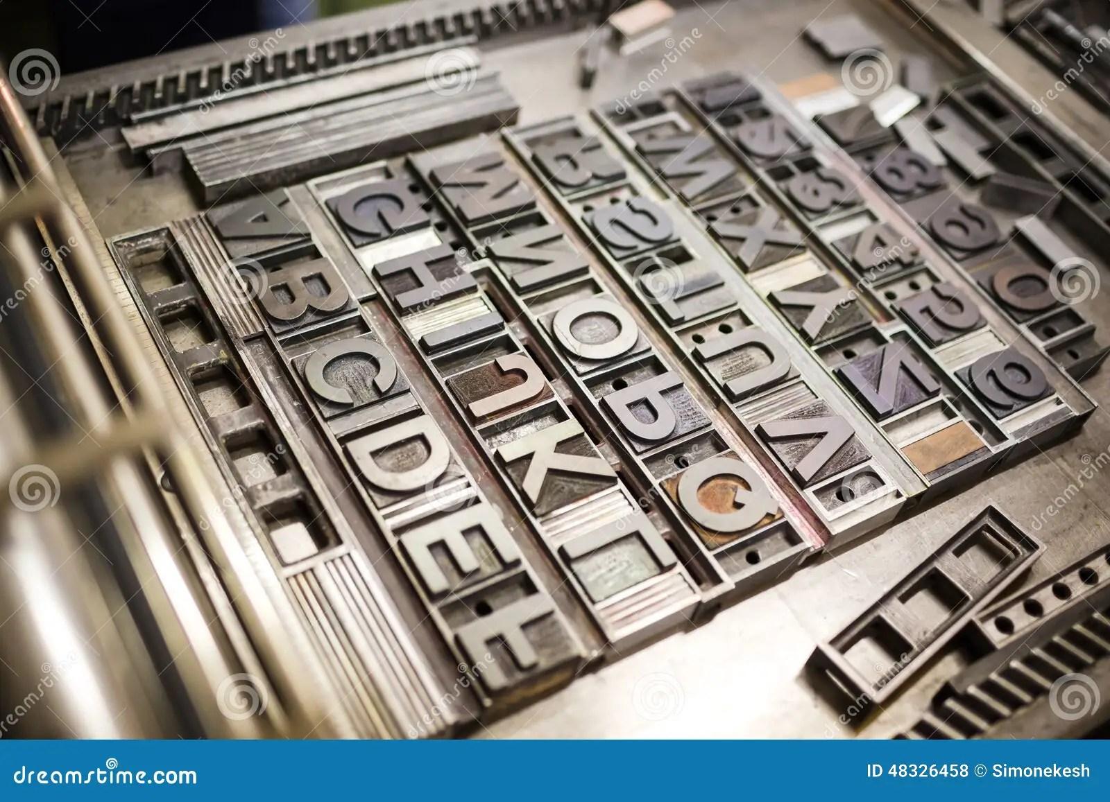 Old Machine Font