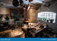 Old vintage kitchen stock photo. Image of basket, food ...