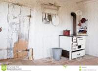 Old Vintage Kitchen At That Time - Stock Photo Royalty ...