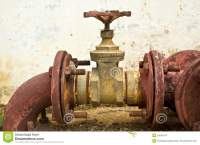 Old Water Pipes And Valves Stock Images - Image: 25691674