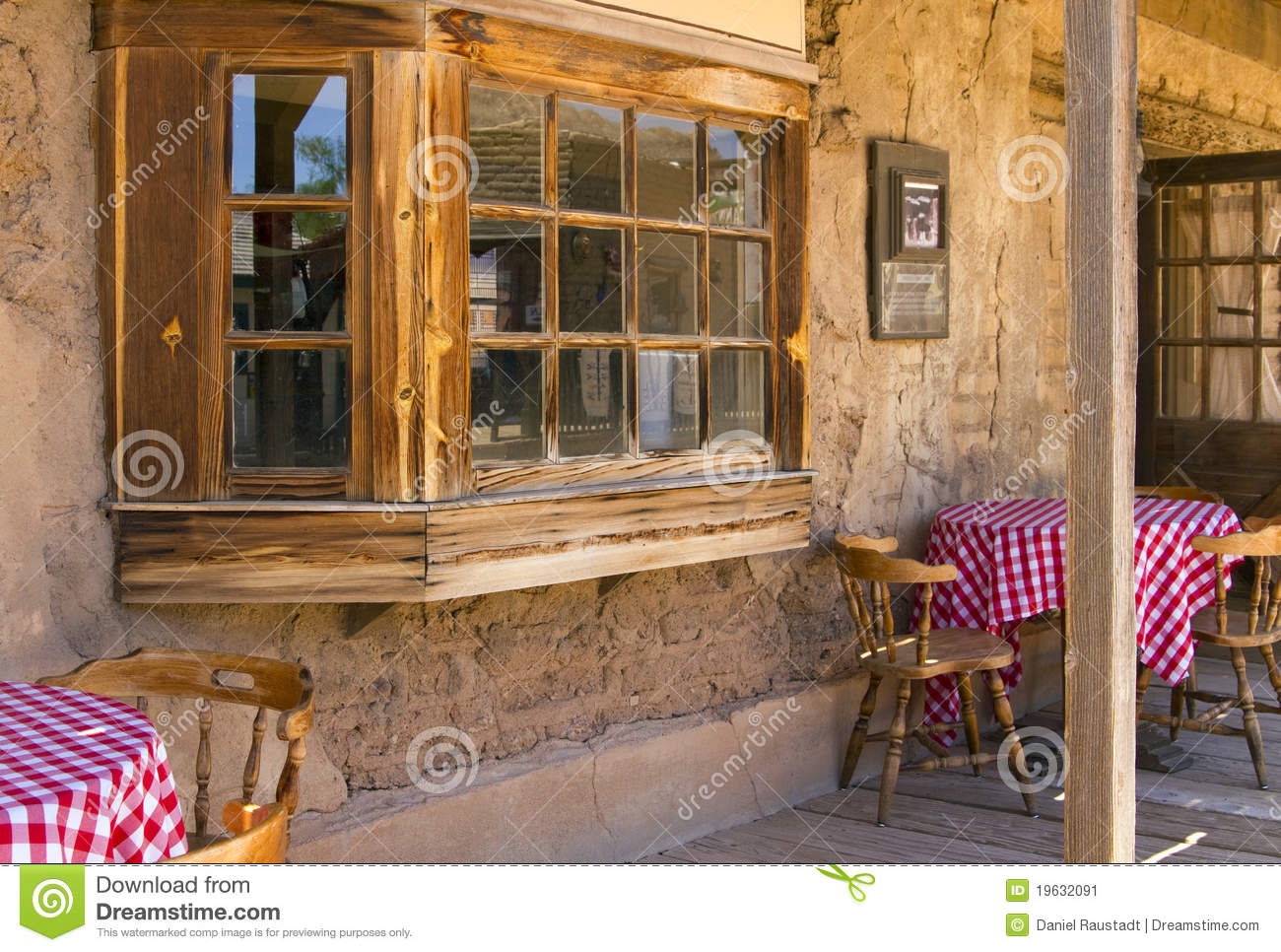 Old West Cowboy Mexican Cantina Saloon Stock Image  Image