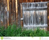 Old Wooden Door To A Shed Royalty Free Stock Photos ...