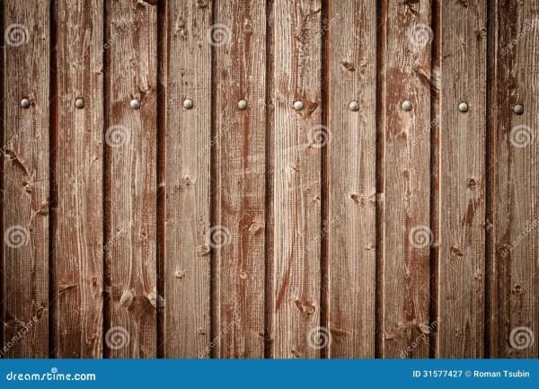 Vertical Wood Fence Planks