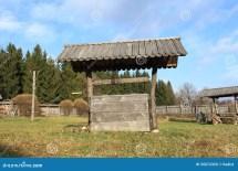 Old Wooden Wishing Wells