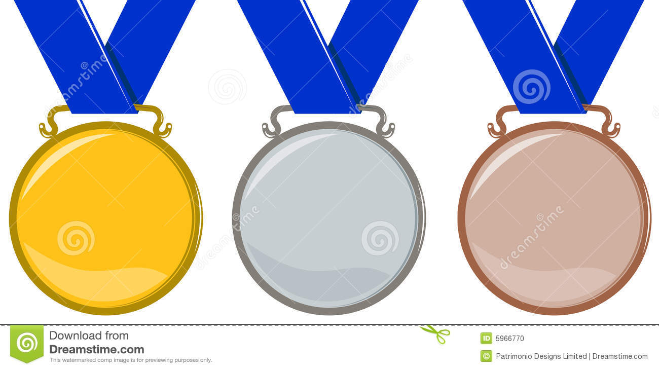 hight resolution of olympic medals