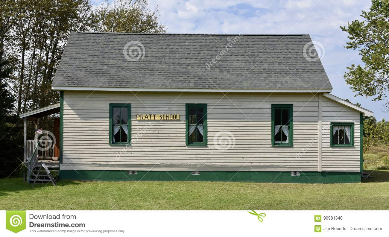 One Room Schoolhouse Editorial Image Image Of Room Taken