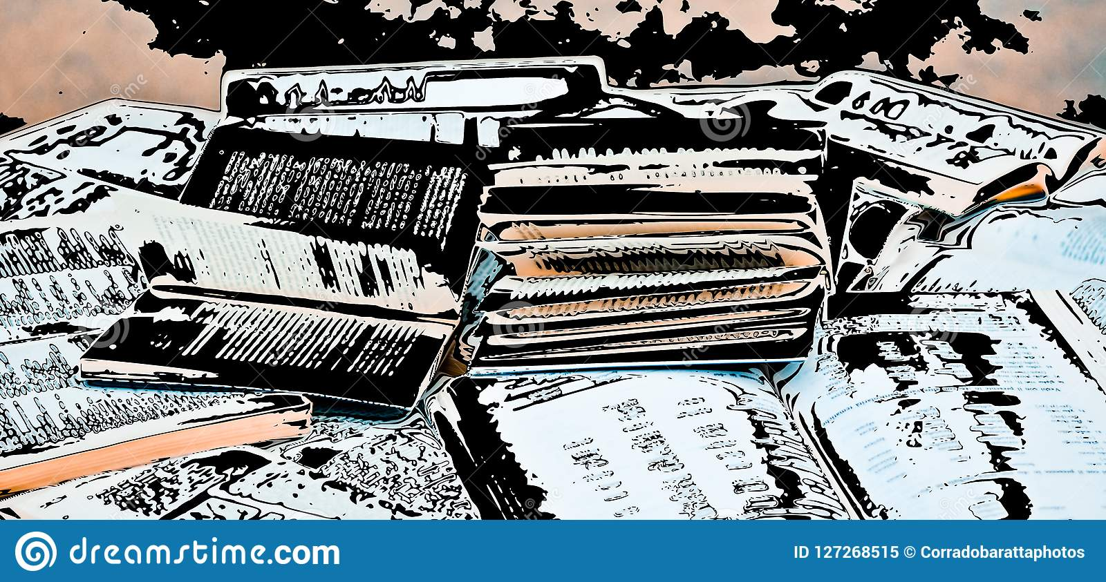 open books in bulk