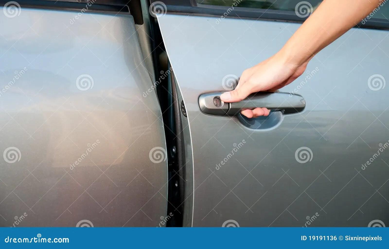 open car door stock