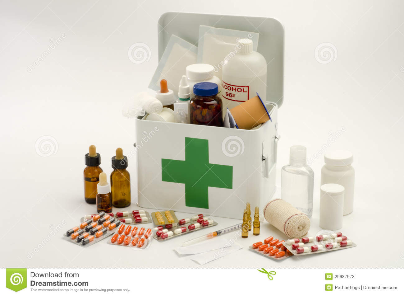 First Aid Kit Emergency Supplies
