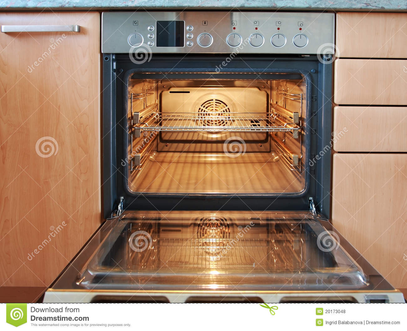 Open Oven Royalty Free Stock Photos Image 20173048