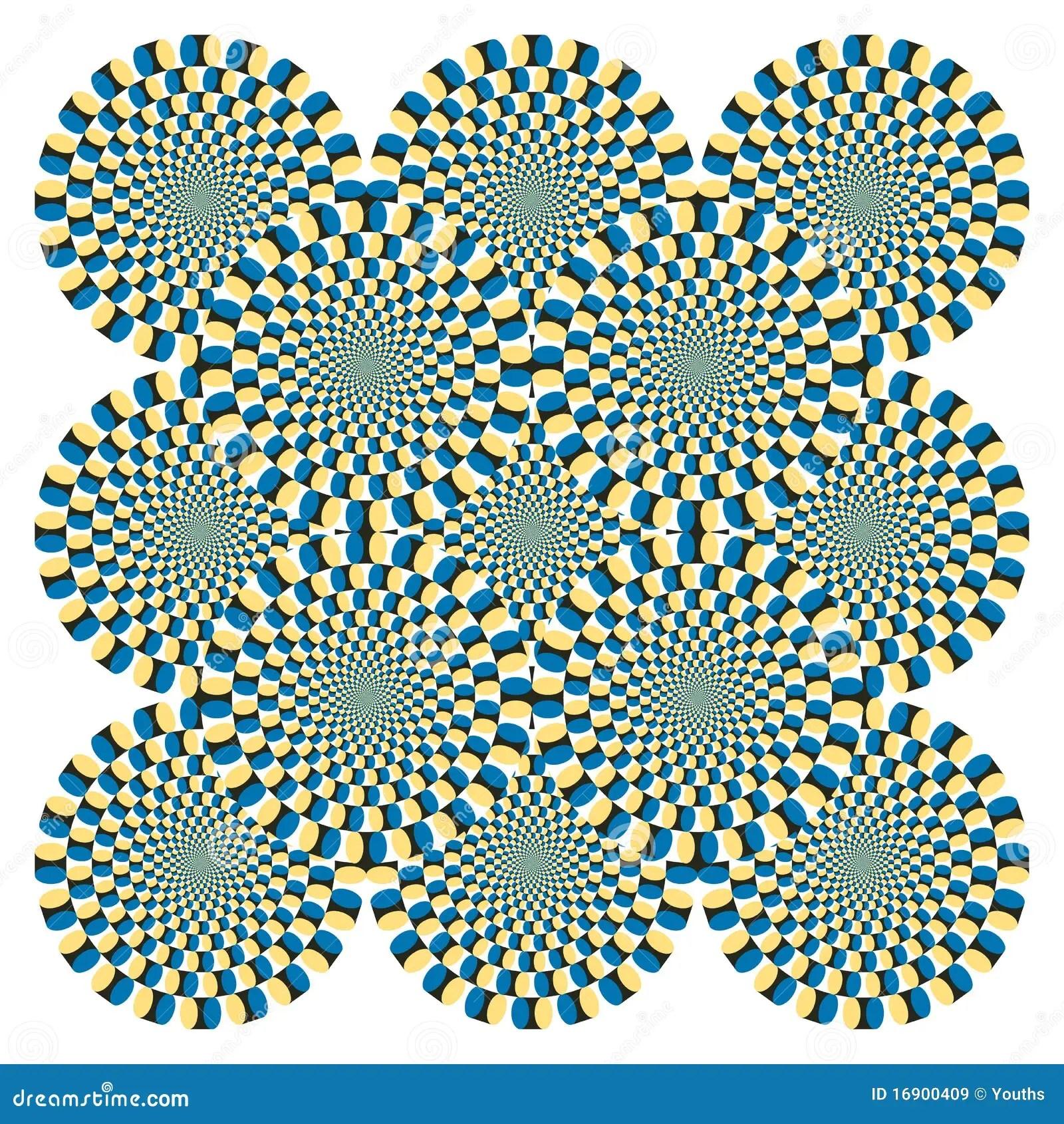 Optical Illusion Wallpaper Hd Optical Illusion Spin Cycle Vector Royalty Free Stock