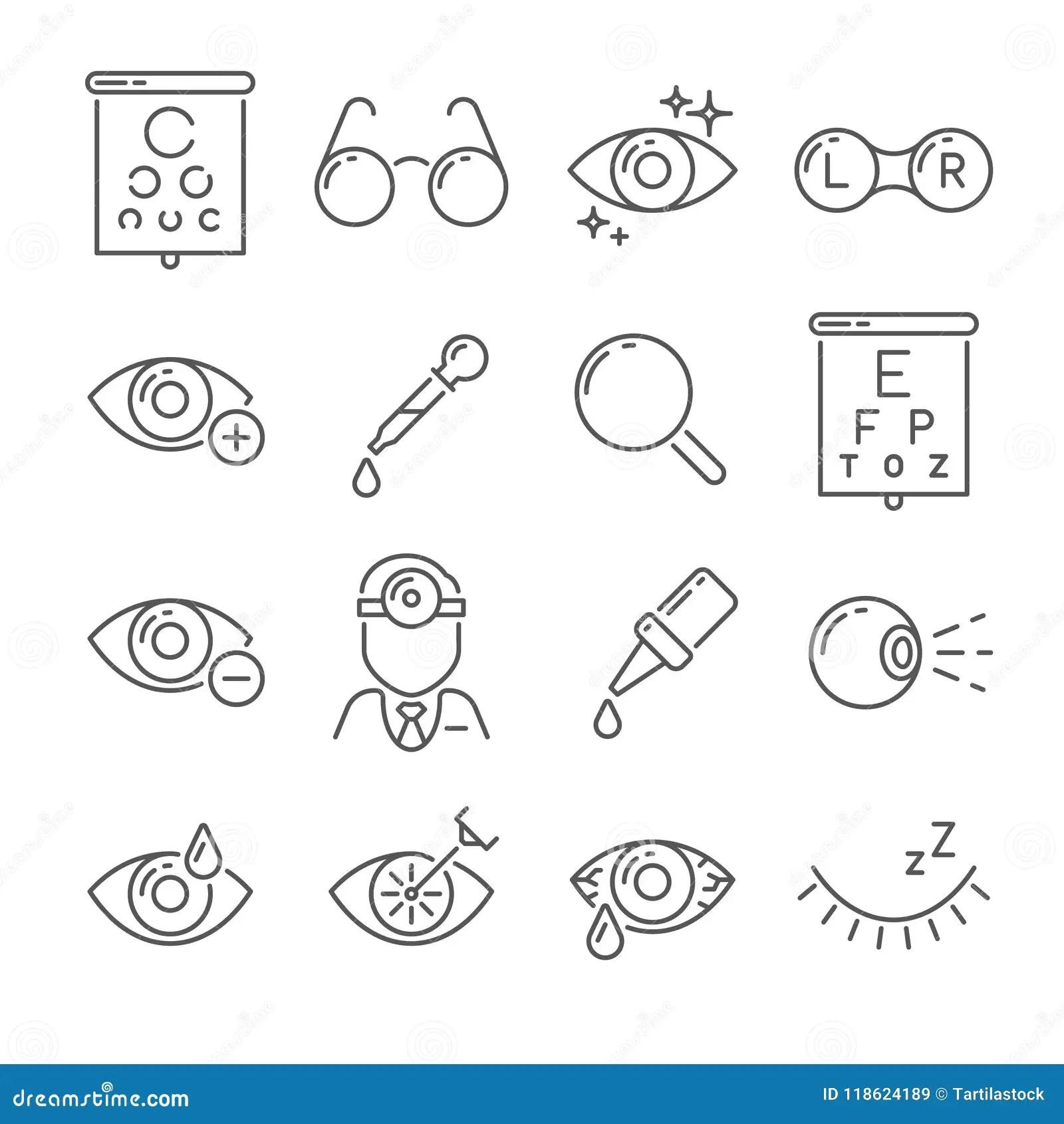 The Eye Or Eyeball Health Care Education Infographic