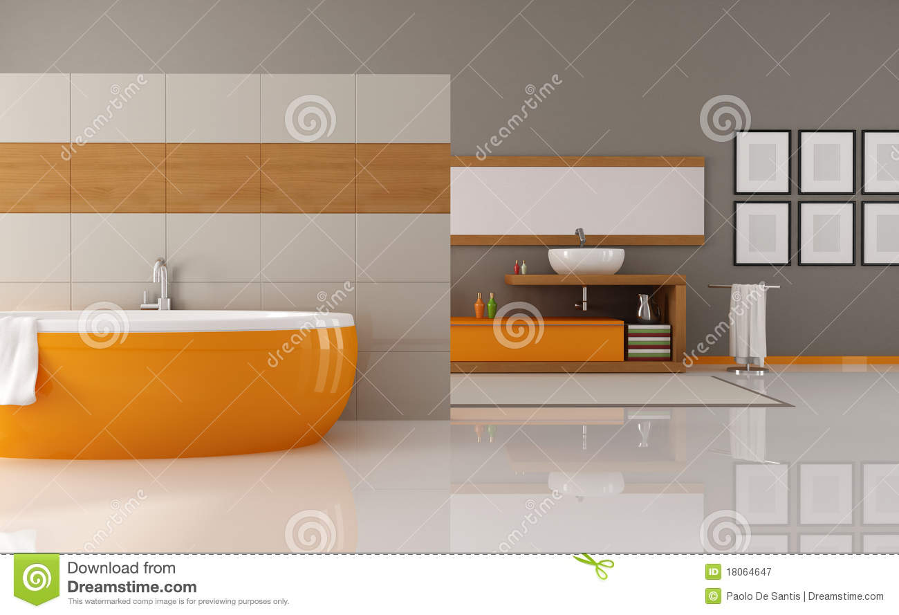 small kitchen sinks curtains orange and brown bathroom royalty free stock photography ...