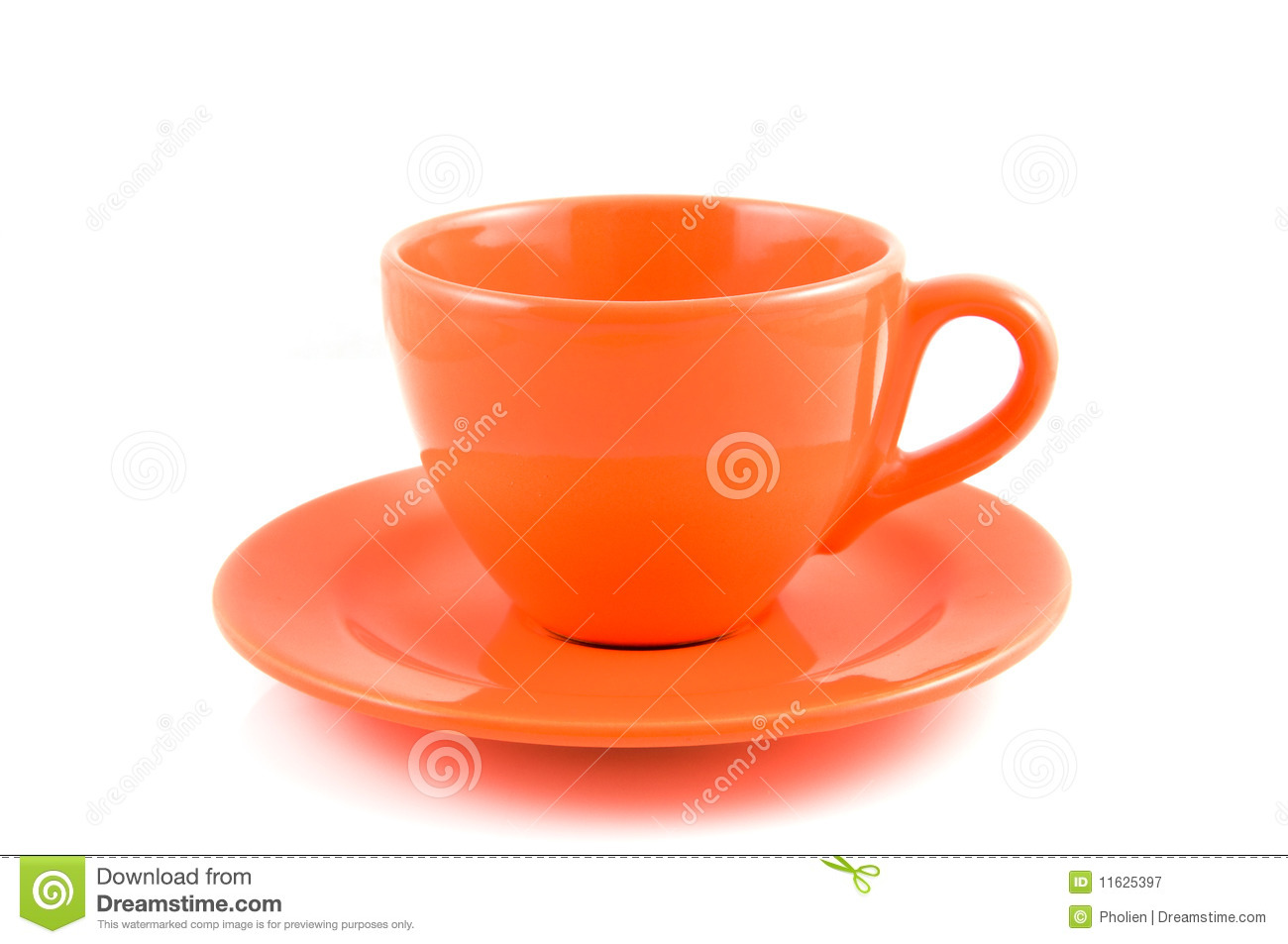 orange coffee cup with