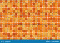 Orange Tiles - Mosaic Stock Images - Image: 688074
