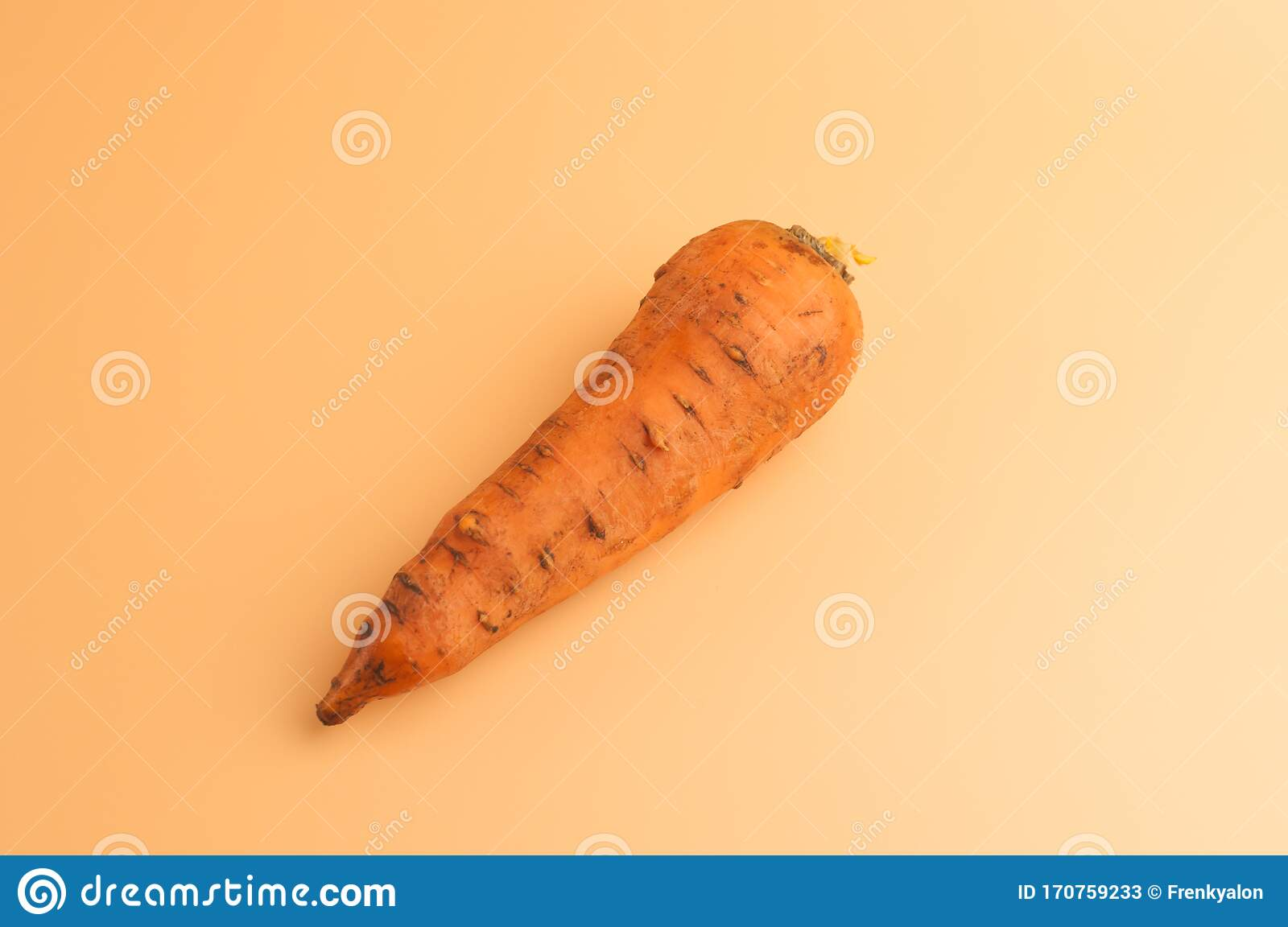 Organic Carrot In The Mud On Beige Background Not Peeled Sweet Carrots On The Surface Young Carrots From Garden In Minimalist Stock Image Image Of Lifestyle Green 170759233