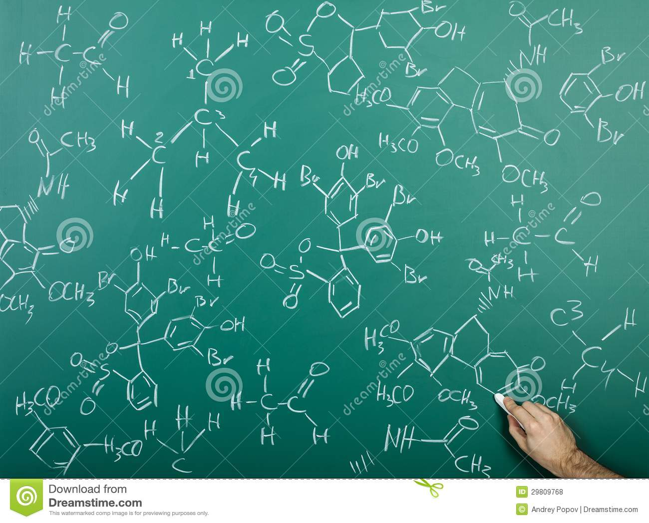 copper atom diagram pc keyboard wiring organic chemical formulas on chalkboard stock photo - image of chemistry, hold: 29809768