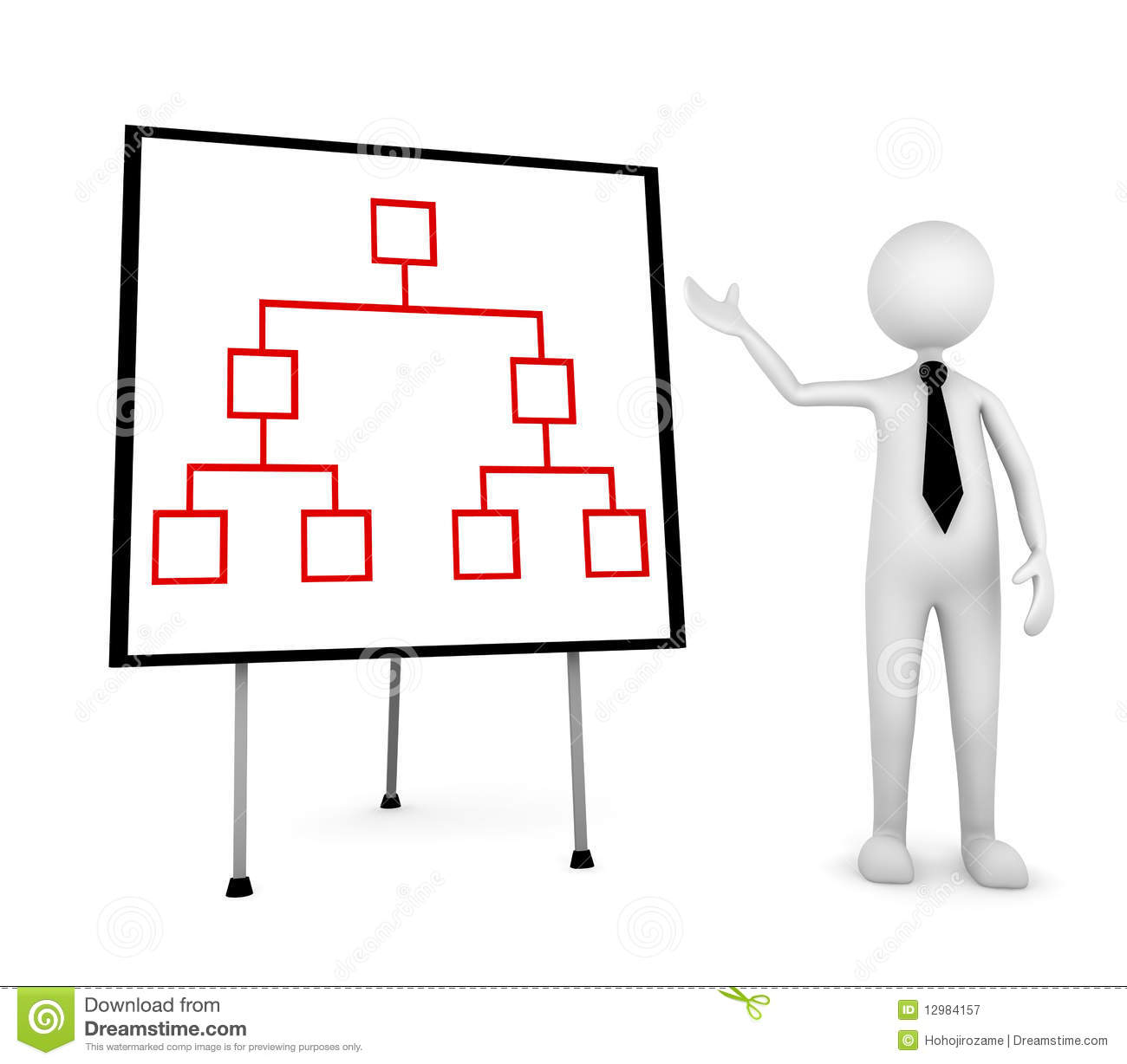 Organization Presentation Stock Illustration Illustration