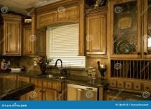 Organized Luxury Kitchen Stock - 5844933
