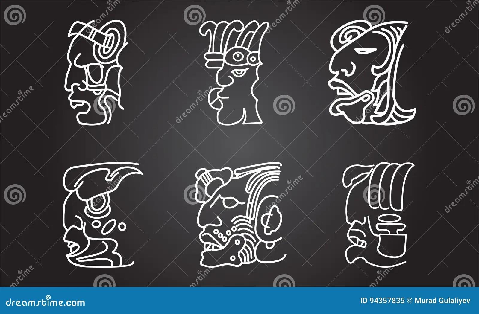 Ornamentos étnicos De Los Indios Nativos Americanos Ilustración Del