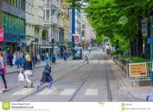 Oslo Norway - 8 July 2015 Daily Life In Busy Editorial