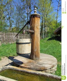 Old Wooden Water Well Pump Plans