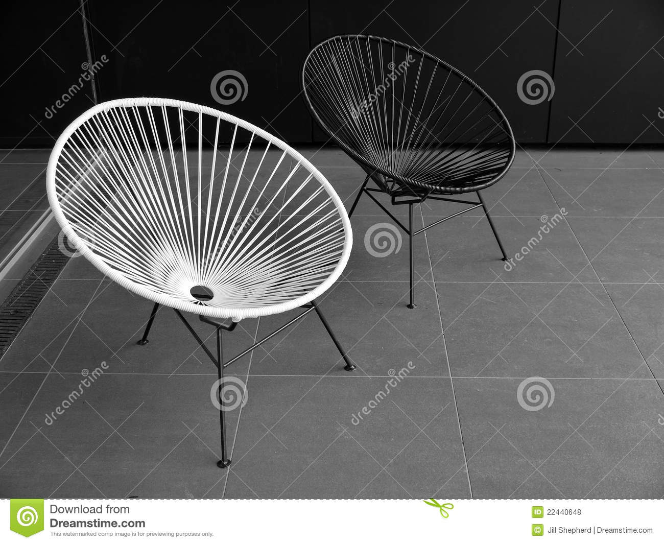 white outside chairs cinema chair accessories outdoor furniture black and stock photo image of modern on paved terrace