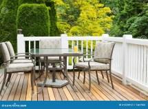 Outdoor Furniture Cedar Wood Patio Nice Day