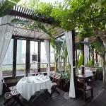 Outdoor Garden Restaurant Stock Image Image Of Flowers 33045507