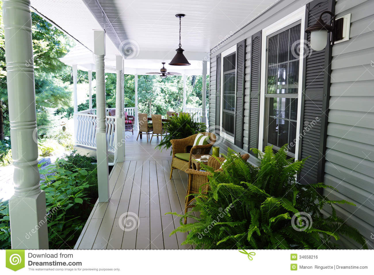Outdoor Living Royalty Free Stock Image  Image 34658216