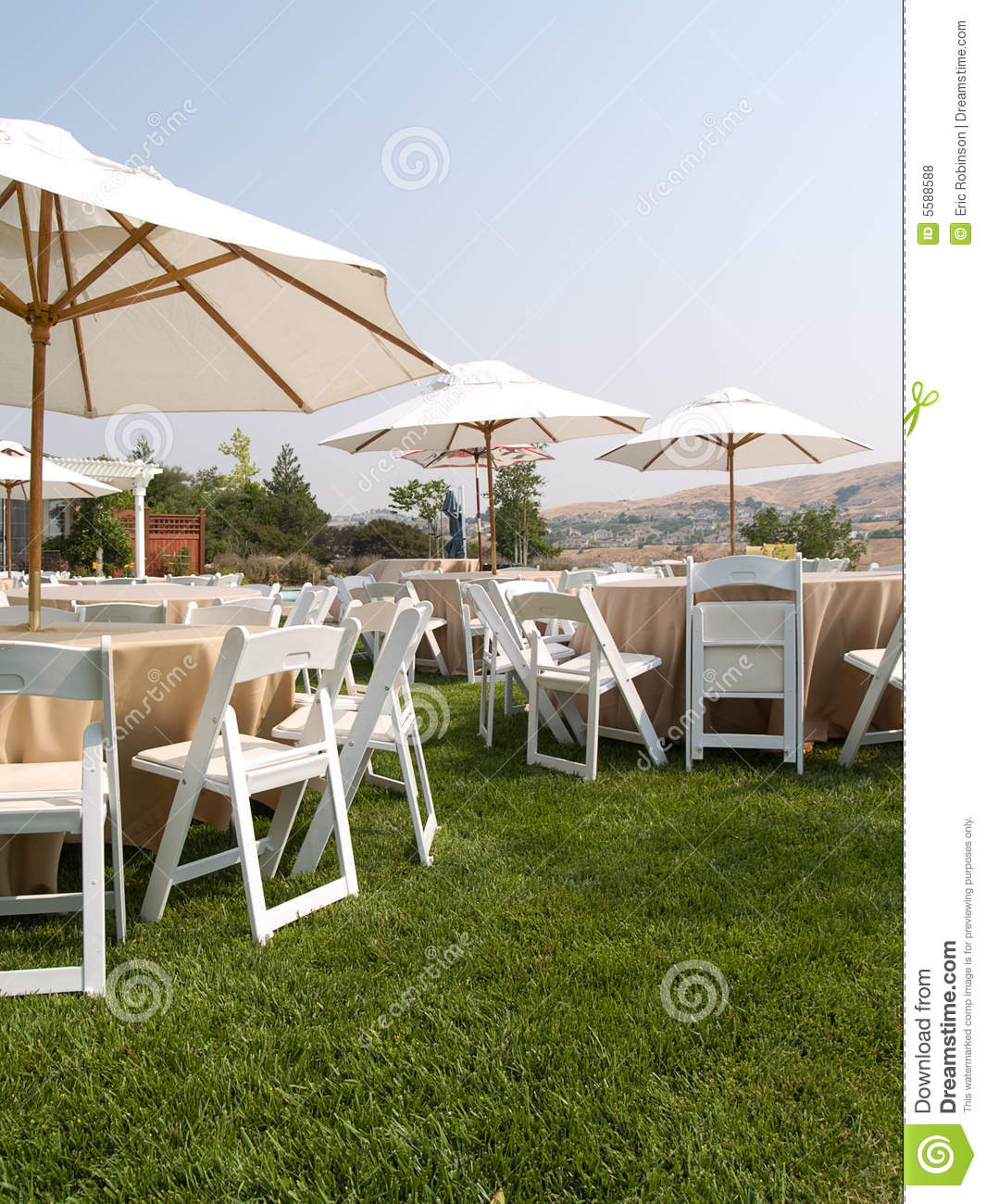 outdoor dream chair ergonomic arm chairs party stock photo image of wedding outside