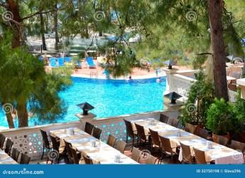 hotel luxury restaurant modern pine vacation