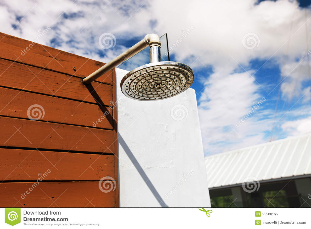 Outdoor Shower At Swimming Pool Stock Image  Image 25508165