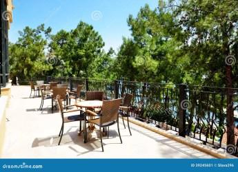 terrace restaurant luxury hotel