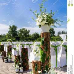 X Back Chairs Grandin Road Rocking Chair Outdoor Wedding Scene Stock Image. Image Of Grass, Beauty - 34395169