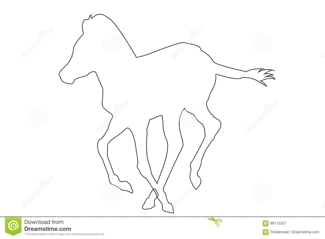 Outline Zebra Stock Illustrations 750 Outline Zebra