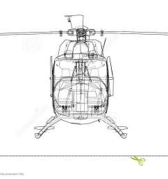 outline drawing of helicopter [ 1300 x 695 Pixel ]
