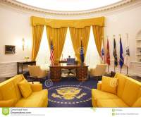 Oval Office Nixon Library editorial stock image. Image of ...