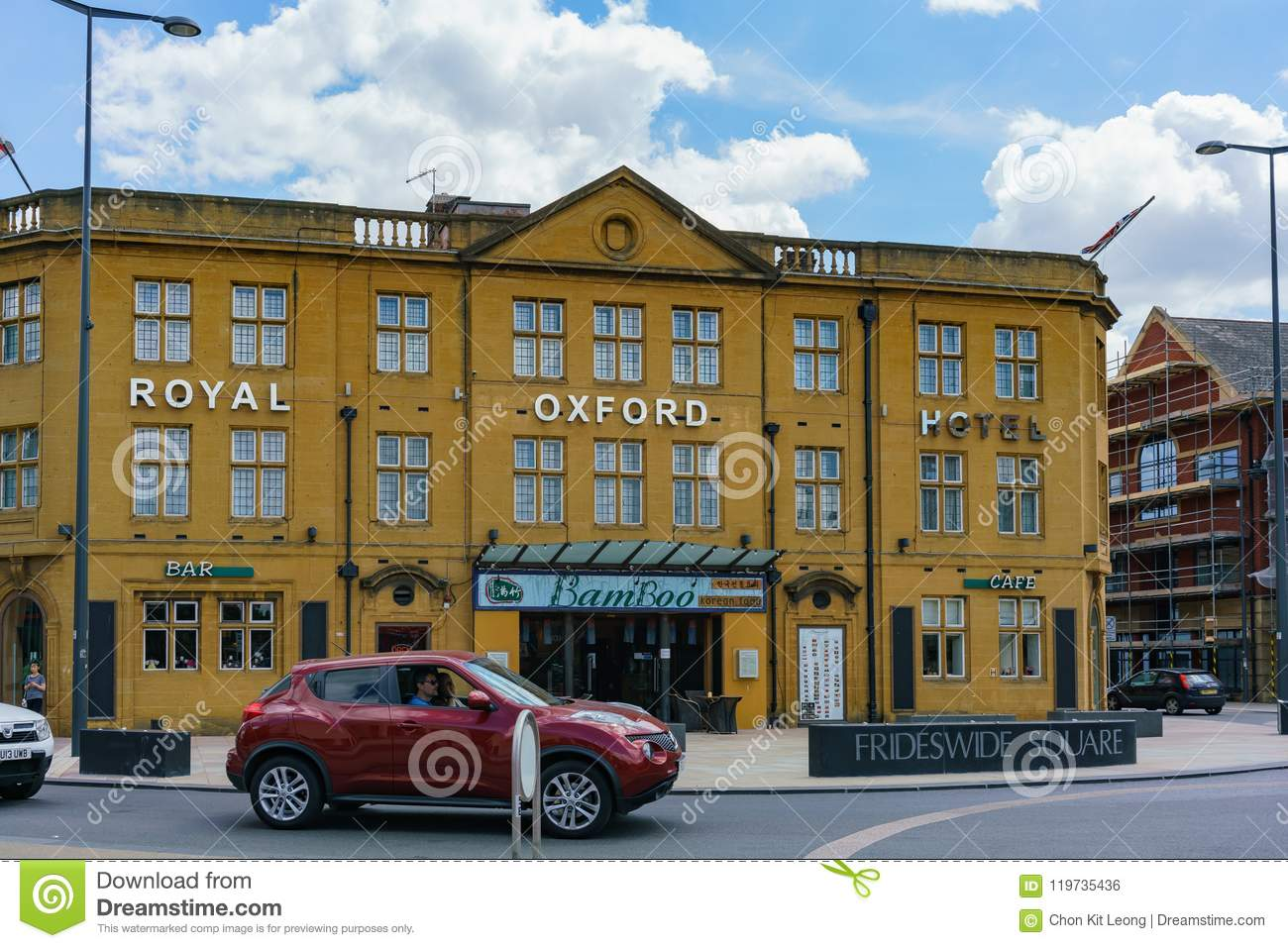 Exterior View Of The Royal Oxford Hotel Editorial Photo