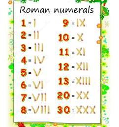 Roman Numerals Worksheets For Teachers Free   Printable Worksheets and  Activities for Teachers [ 1689 x 1208 Pixel ]