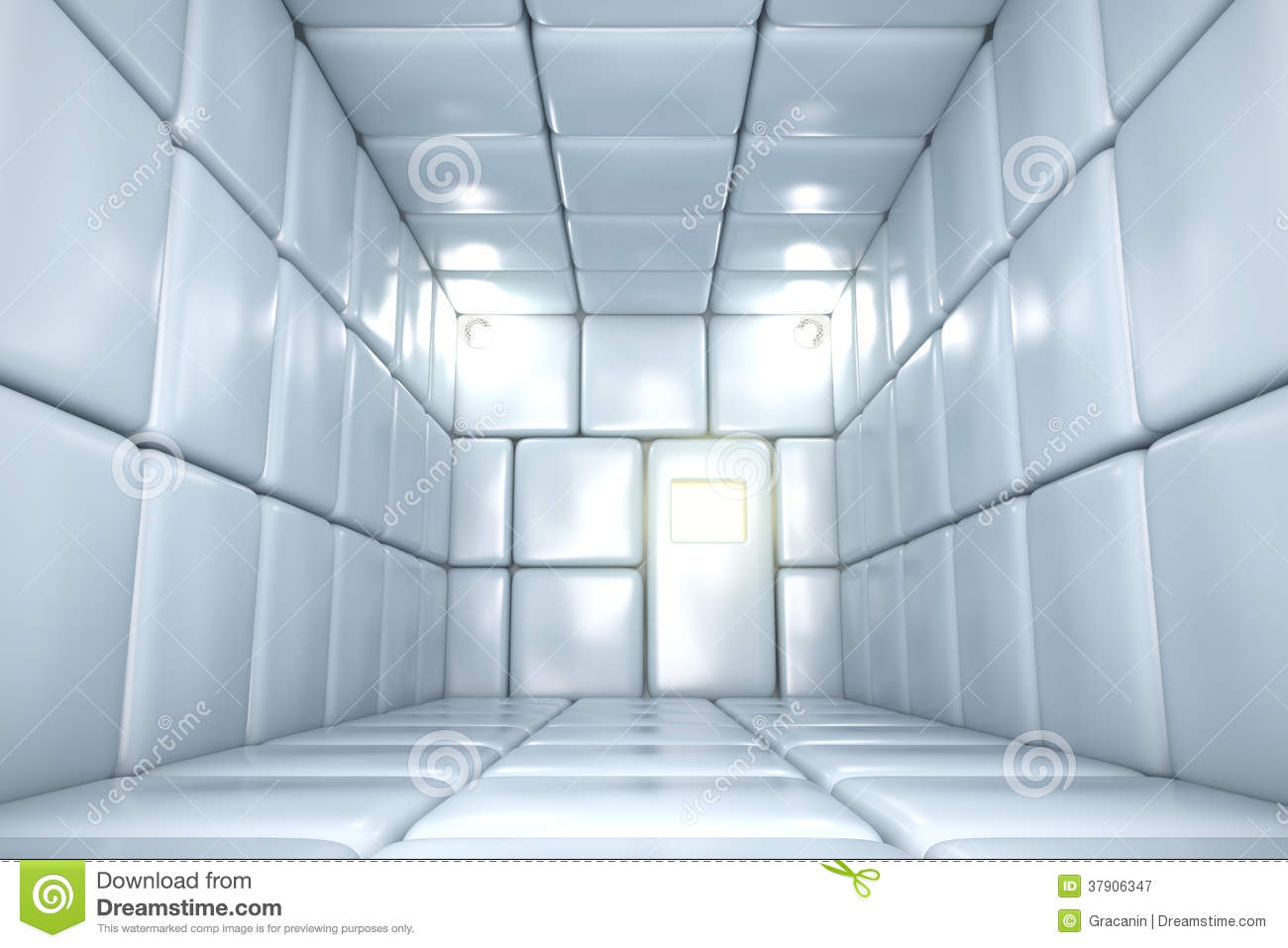 3d Illusion Wallpaper Download Padded Room Stock Image Image Of Acoustic Institution