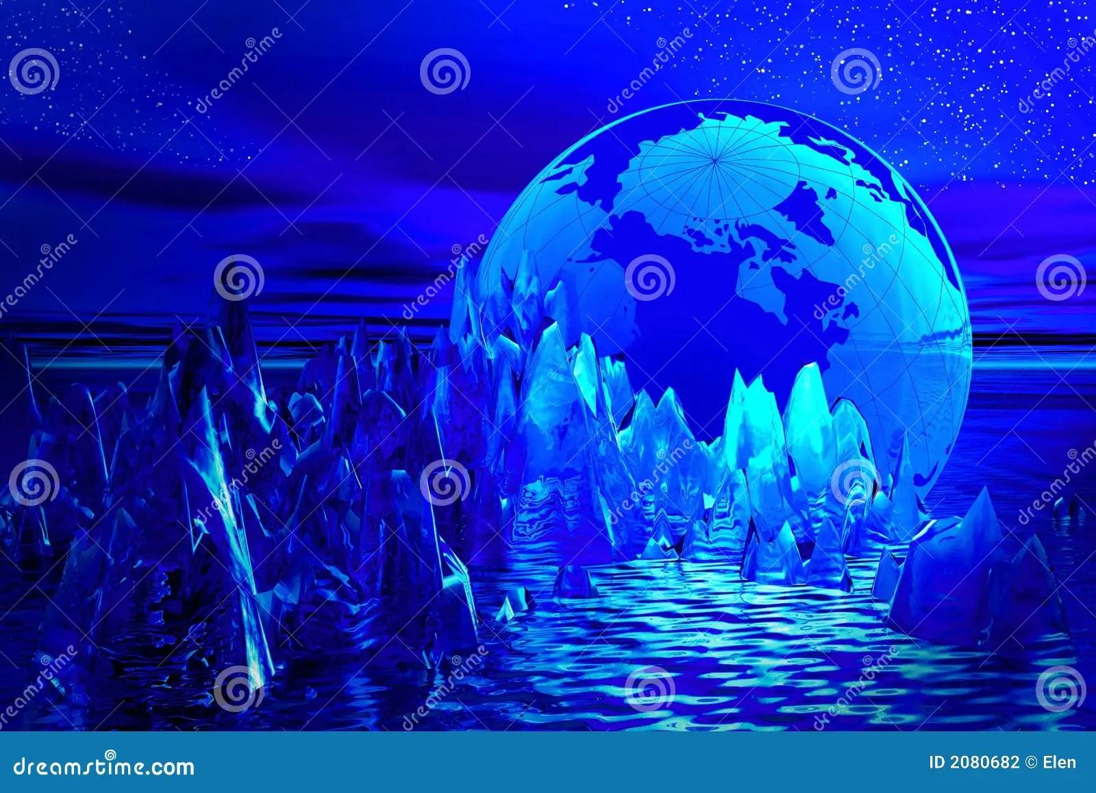 Paesaggio fantastico illustrazione di stock Illustrazione di decorazione  2080682