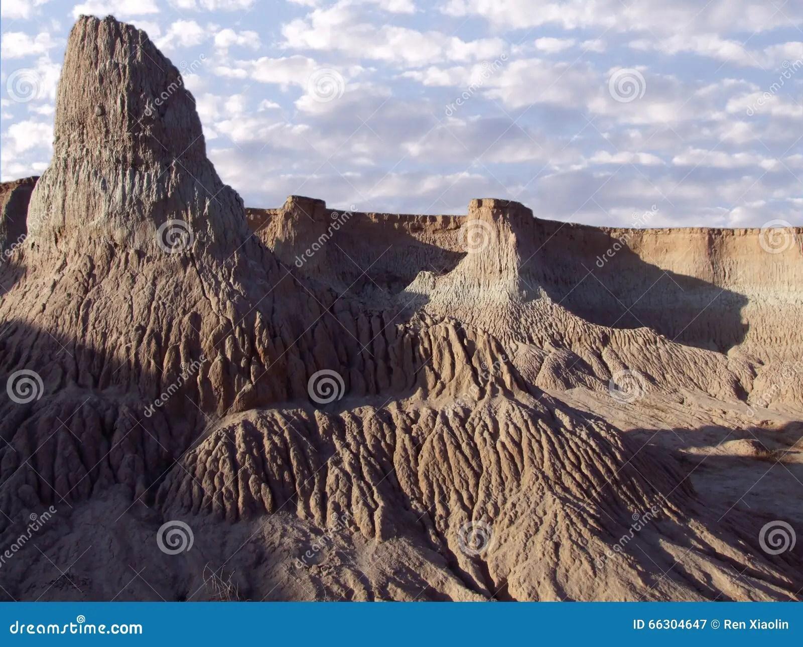 Paesaggio geografico immagine stock Immagine di