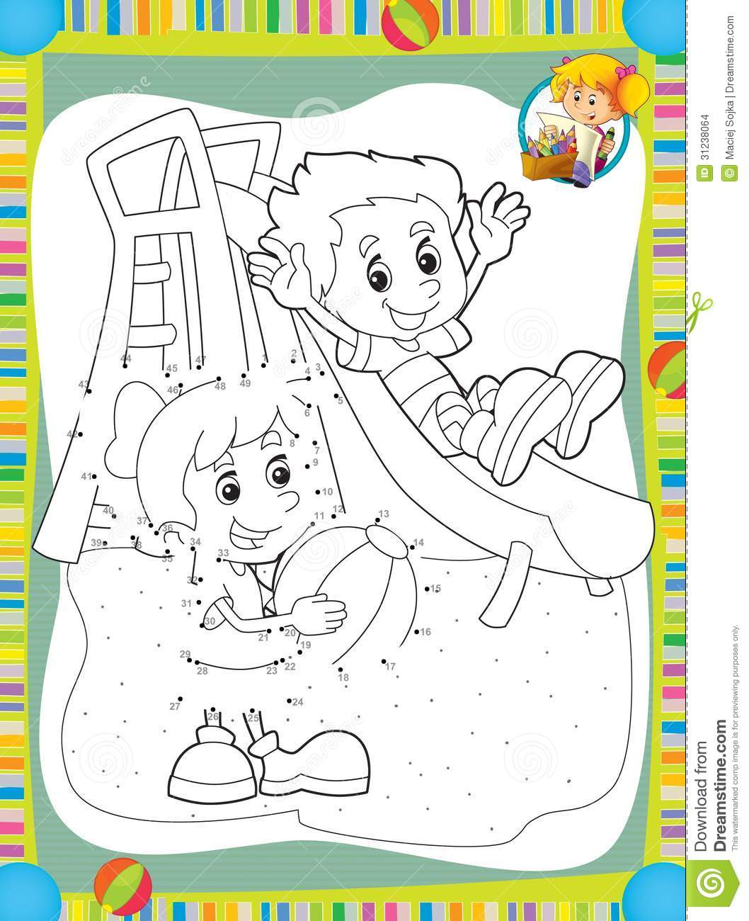The Page With Exercises For Kids