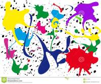 Paint Splatter Royalty Free Stock Image - Image: 5217056