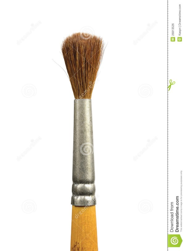 Used Old Paint Brushes