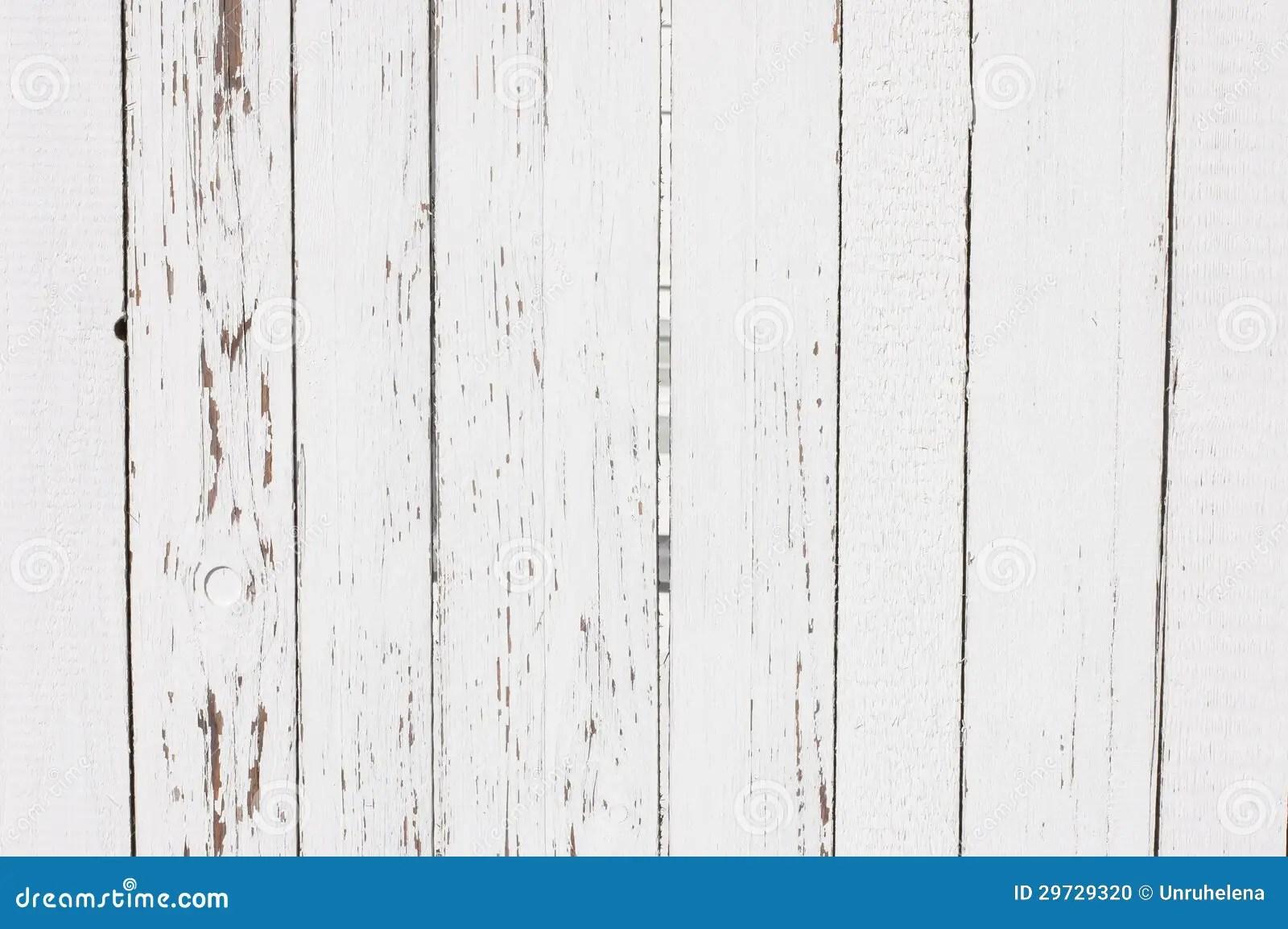 White Wooden Planks Texturertical Stock Photo